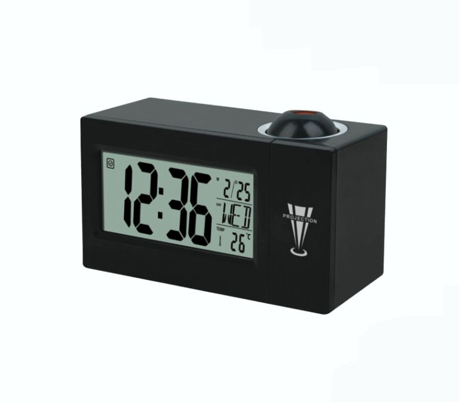 wall projection clock