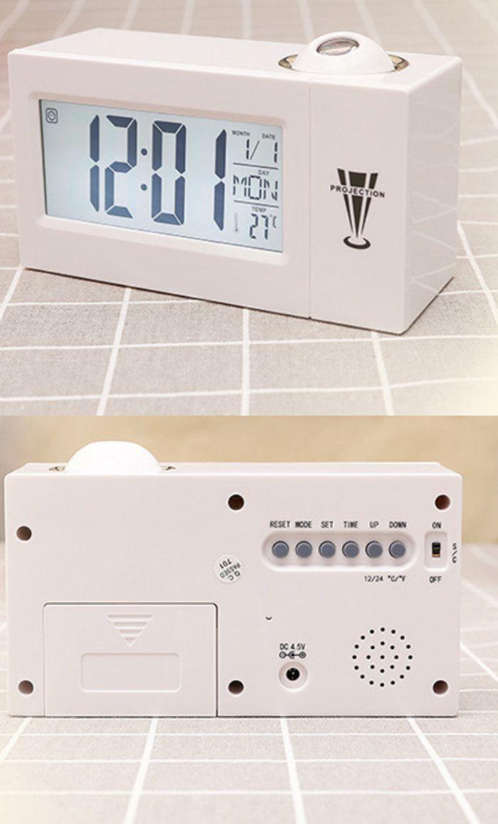 reloj proyector enchufe electrico 220v