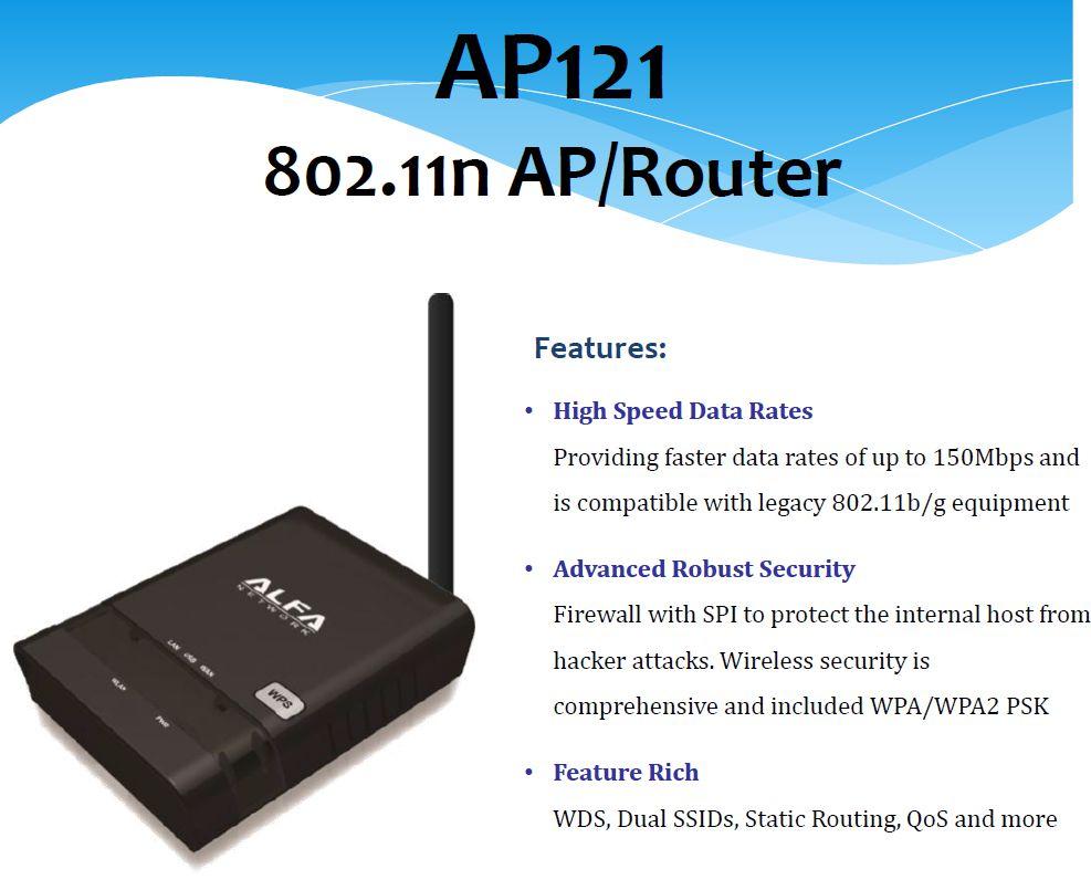 router wifi rp-sma