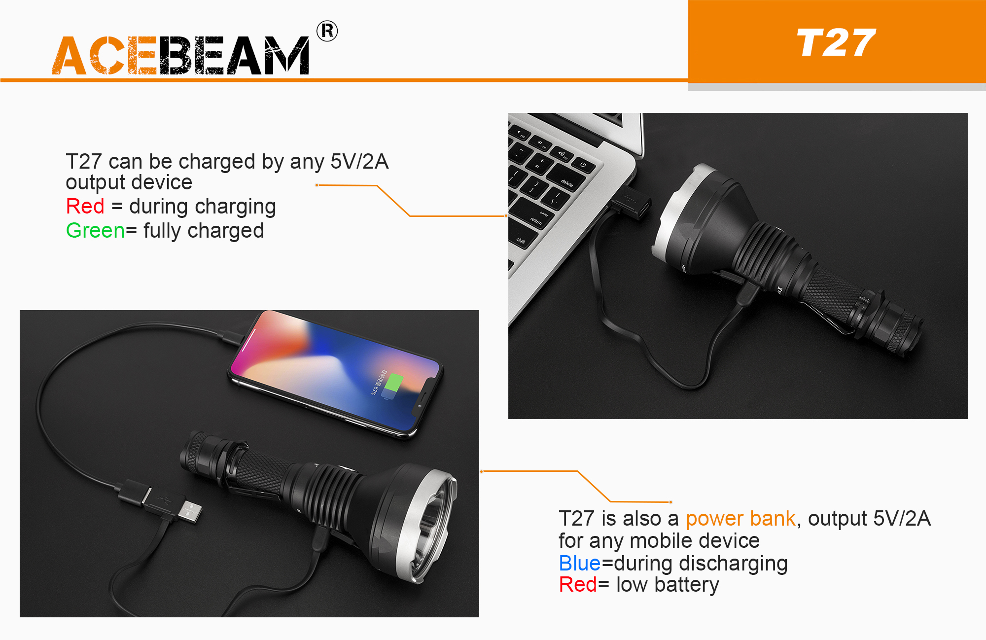 T27 POWER BANK ACEBEAM