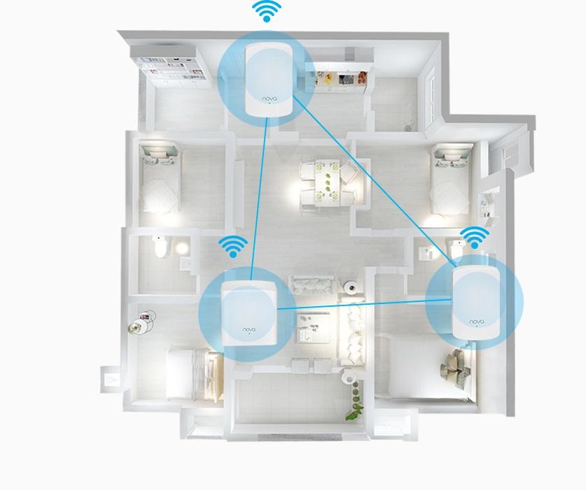 WiFi mesh rompe muros
