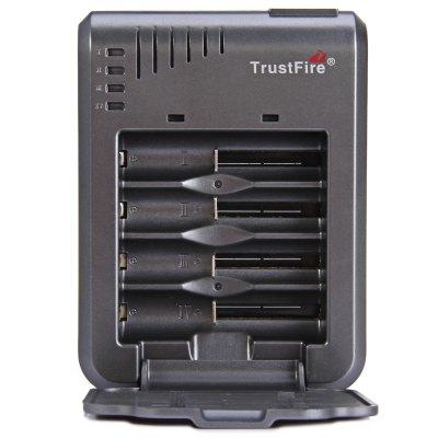 cargador baterias cilíndricas trustfire