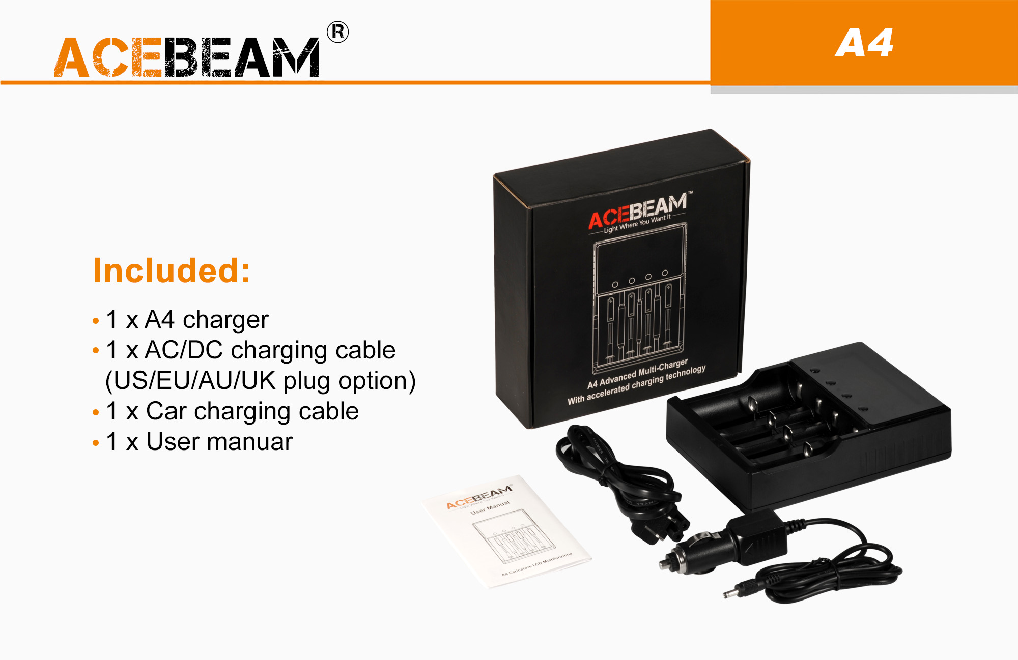 acebeam 21700 charger