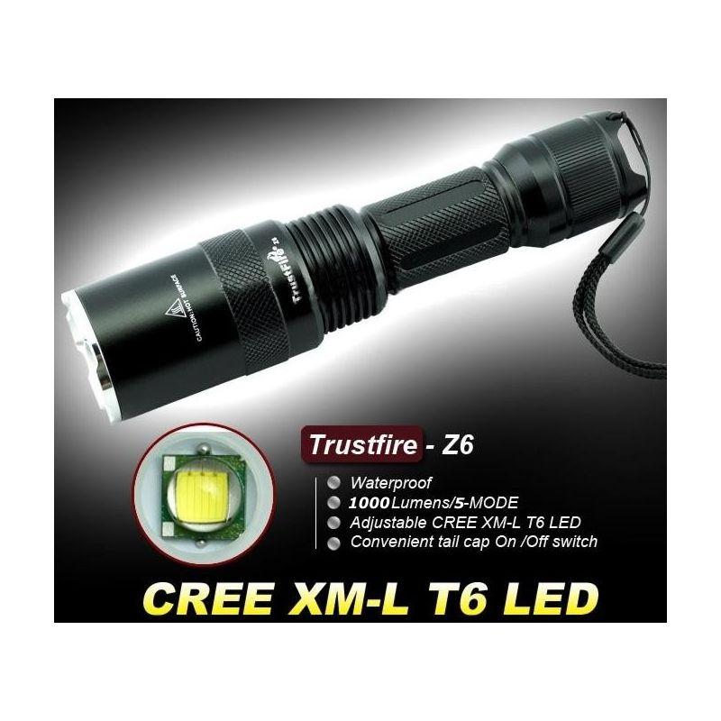 trustfire z6 zoom 5 modos