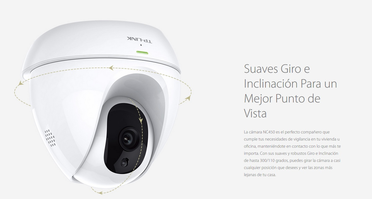 ▷ TP-LINK NC450 Camera WiFi Rotating WITH NIGHT