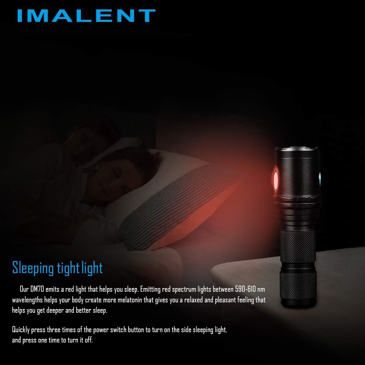 luz linterna dormir