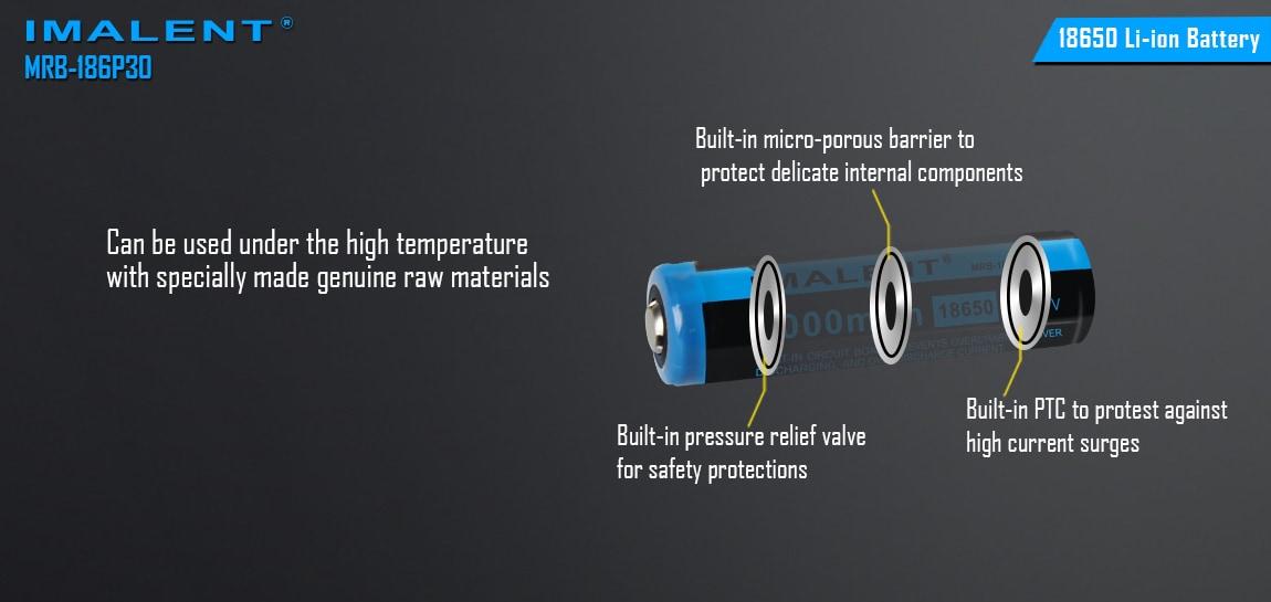 baterias imalent protegidas