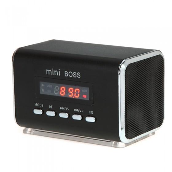 mp3 altavoces pc usb reproductor radio fm sd 6w ordenador. Black Bedroom Furniture Sets. Home Design Ideas