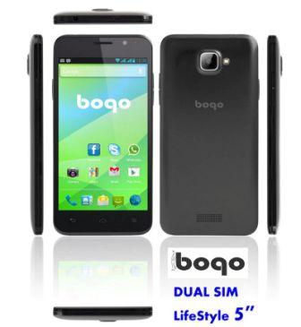 Movil libre dual SIM Bogo 5 QC 5