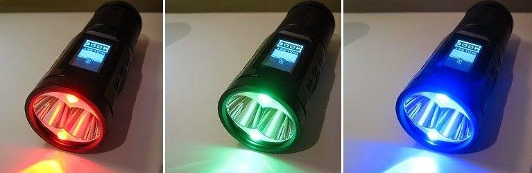 Linterna fotografo imalent sa04 led xm l2 cree pantalla tactil for Linterna de led potente