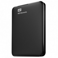 "HDD Disco Externo Western Digital Elements 1TB HD WD3.0 2.5"" PRETO"