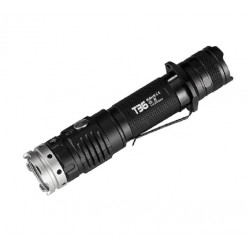 Tactical flashlight ACEBeam T36 2000 lúmen USB rechargeable-C 21700 battery included