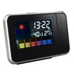 Estacion meteorologica reloj proyector led for Estacion meteorologica barata