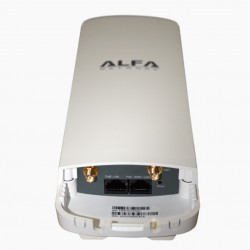 AP WIFI CPE Alfa Network N2C router exterior 2x RP-SMA conectores hembra