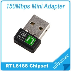 Nano Wireless Network Adapter Mini USB LAN Dongle Portable wifi