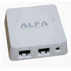 WISP WIFI Router pocket Alfa Network AIP-W512 repeater bridge and WISP