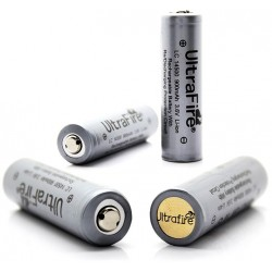 UltraFire LC 14500 900mAh 3.6V Protected Rechargeable Li-ion Grey Over-Discharging Protection