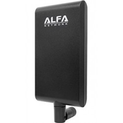 WIFI-antenne panel 5ghz dual-band-ALFA APA-m25 RP-SMA Patch directional