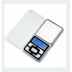 Scale precision digital pocket with cover 500g / 0.1 g