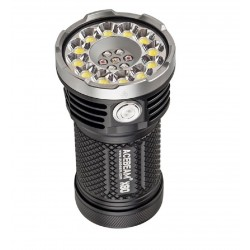 Acebeam X80 Flashlight very powerful photo, RGB 12 LED XHP50.2 25000LM