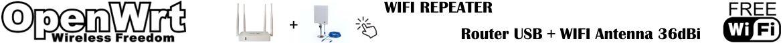 OpenWrt router ripetitore WIFI italia