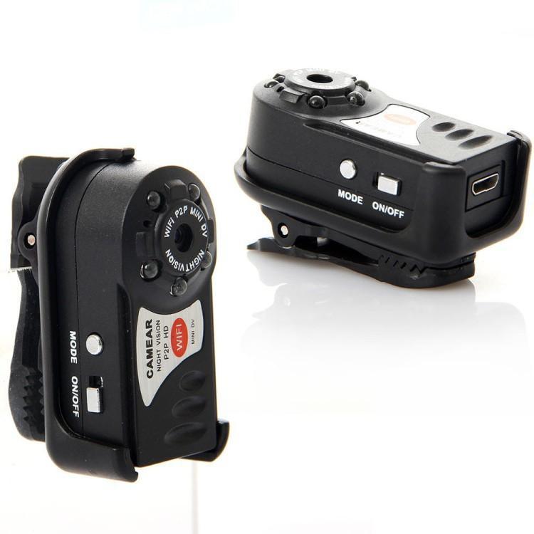 Minicamara de video wifi mini dvr vigilancia espia hd q7 - Camaras de seguridad wifi ...