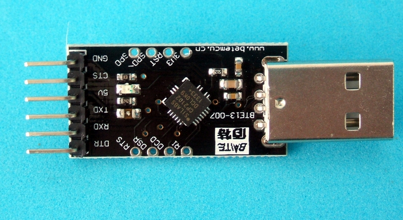 Cable convertidor usb to rs uart ttl serial cp